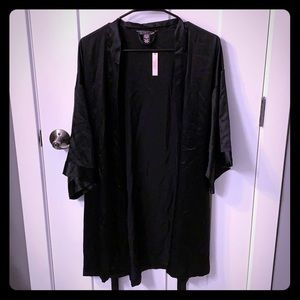 Victoria secret black robe